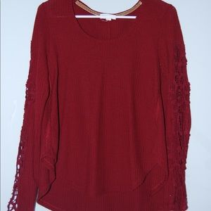 Dry Goods Red Sweater